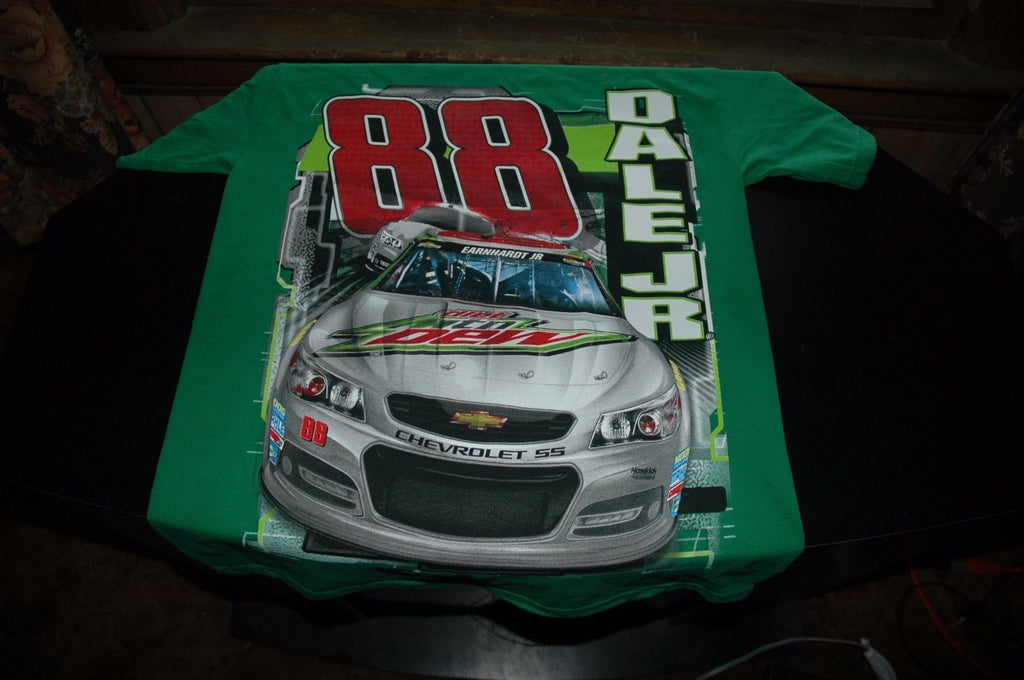 Dale Earnhardt Jr 88 Diet Mountain Dew Nascar short sleeve shirt size medium