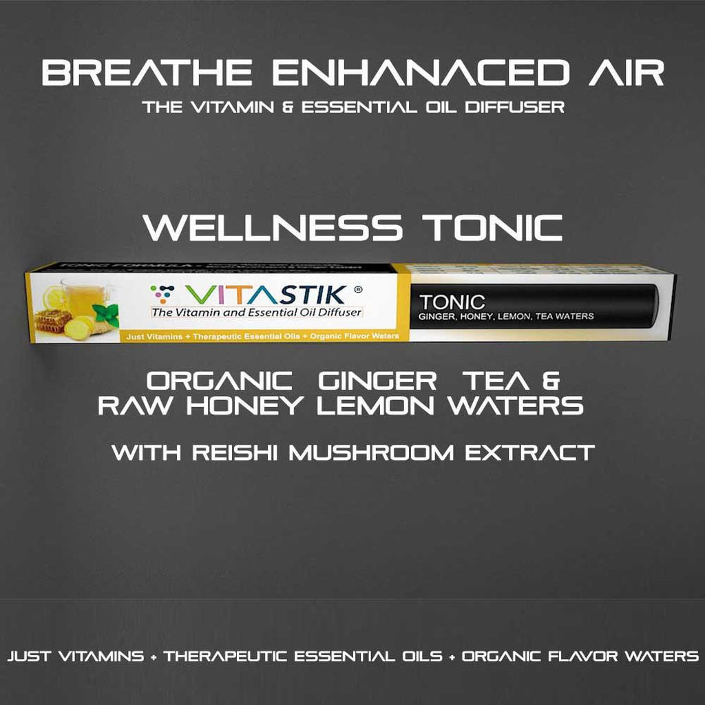 Vita Stick Wellness Tonic | Ginger Honey Lemon Vitamin Inhaler