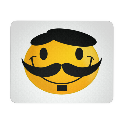 FRENCH SMILEY FUNNY MOUSEPAD