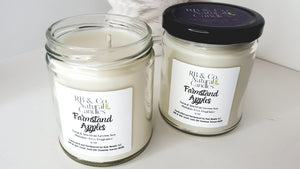 Farmstand Apples | Natural Soy Candle | Hand-Poured and Hand-Crafted