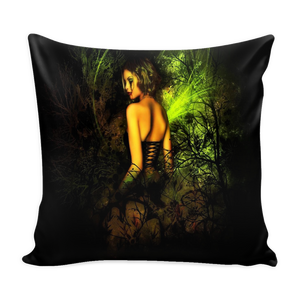 Gothic Girl Fantasy pillow cover