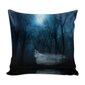 Ghost Fantasy Woman Pillow Cover