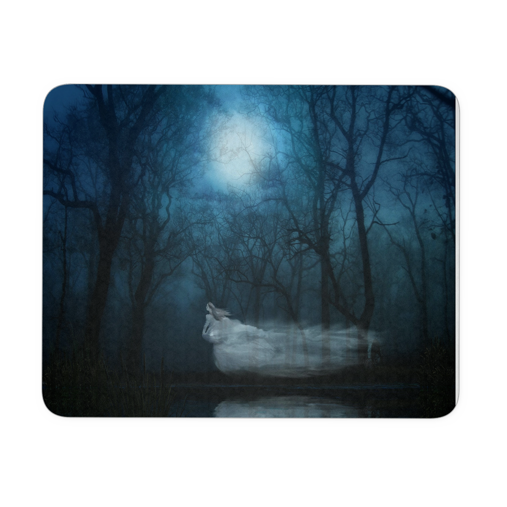 Ghost Fantasy Woman Mousepad