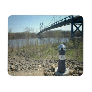 RIVERFRONT MINI LIGHTHOUSE MOUSEPAD