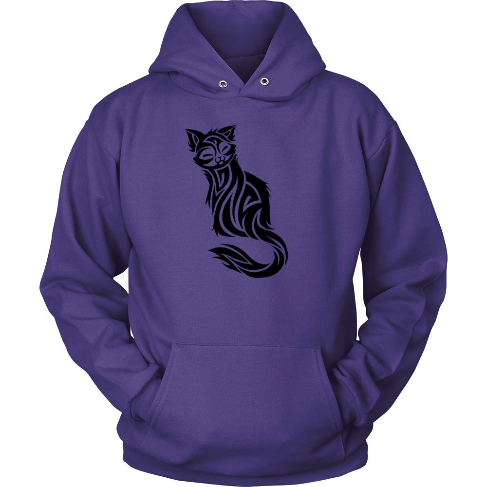 CAT TATTOO HOODIE PULLOVER
