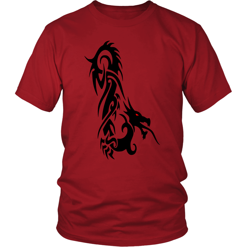DRAGON RED EYE FANTASY DISTRICT UNISEX SHIRT