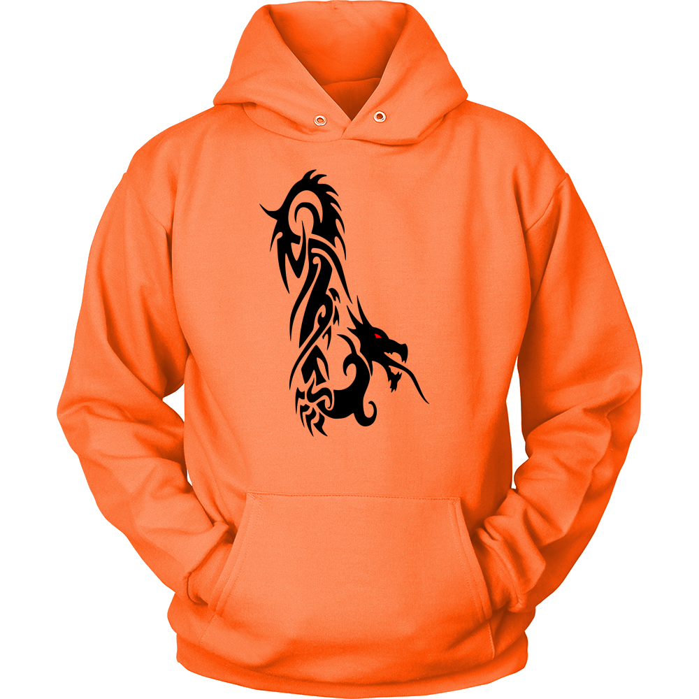 DRAGON RED EYE FANTASY HOODIE PULLOVER