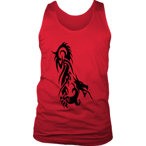 DRAGON RED EYE FANTASY DISTRICT MENS TANK TOP