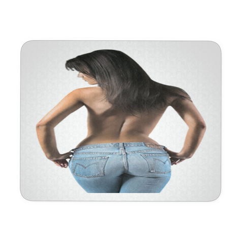 SEXY WOMAN IN JEANS MOUSEPAD
