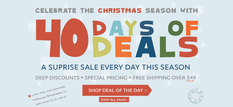 40 Days of Deals