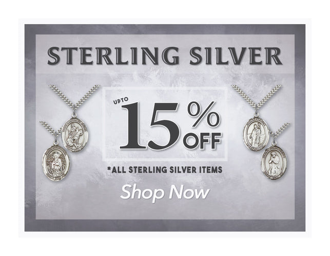 15% OFF Sterling Silver Sale