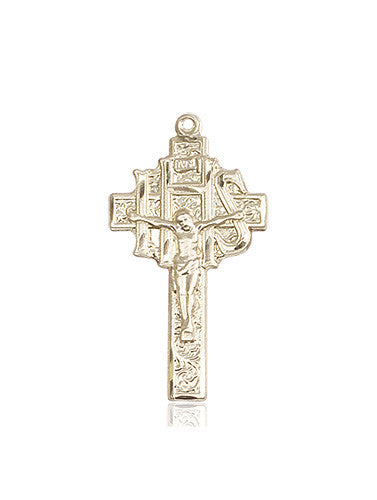 crucifix_ihs_medal_14kt_gold