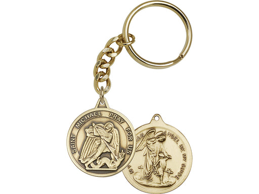 St. Michael the Archangel Keychain
