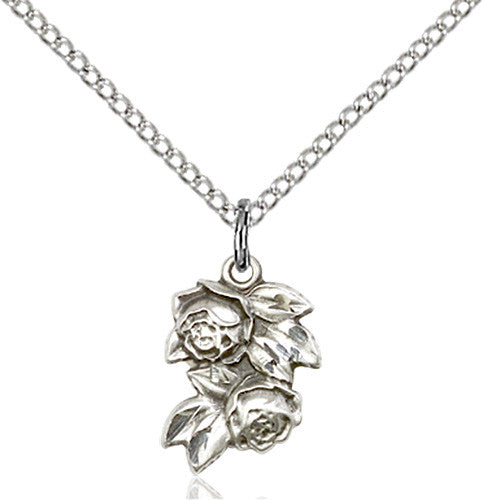 Image of Rose Pendant (Sterling Silver)