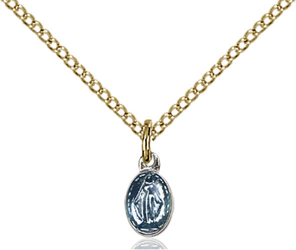 Image of Miraculous Pendant (Gold Filled)