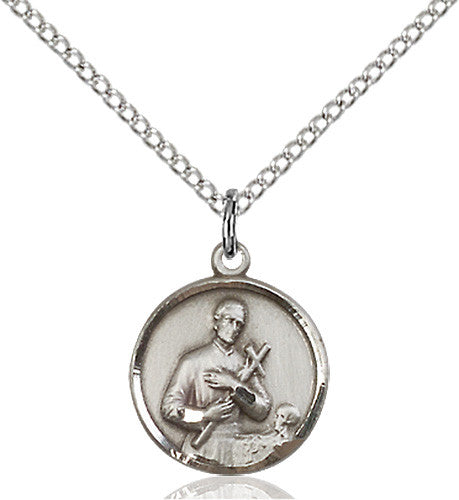Image of St. Gerard Pendant (Sterling Silver)