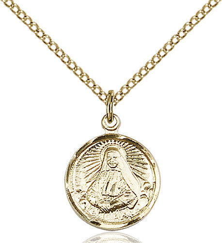 Image of St. Cabrini Pendant (Gold Filled)