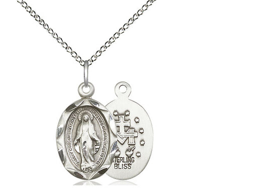 Miraculous Sterling Silver Pendant