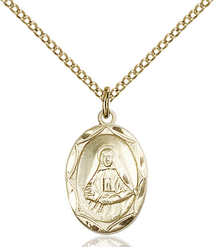 Image of St. Frances Cabrini Pendant (Gold Filled)