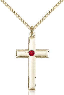 ruby_bead_cross_pendant