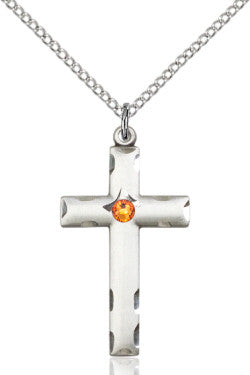 topaz_bead_cross_pendant