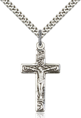 Crucifix Pendant (Sterling Silver)