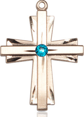zircon_bead_cross_medal_14kt_gold