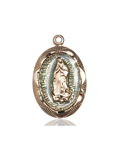 Image of Our Lady of Guadalupe Medal (14kt Gold)