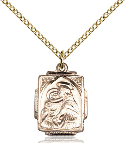 Image of St. Anthony Pendant (Gold Filled)