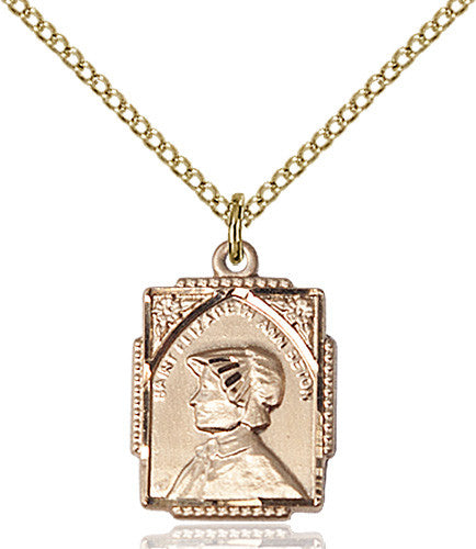 Edburga of Winchester Pendant Gold Filled St Pendants