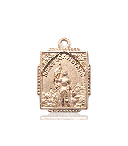 st_joan_of_arc__medal_14kt_gold