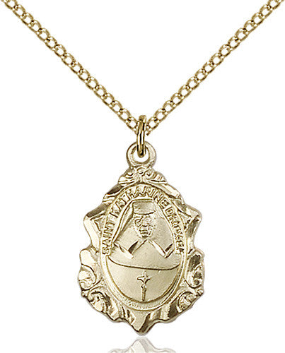 Image of St. Katharine Drexel Pendant (Gold Filled)