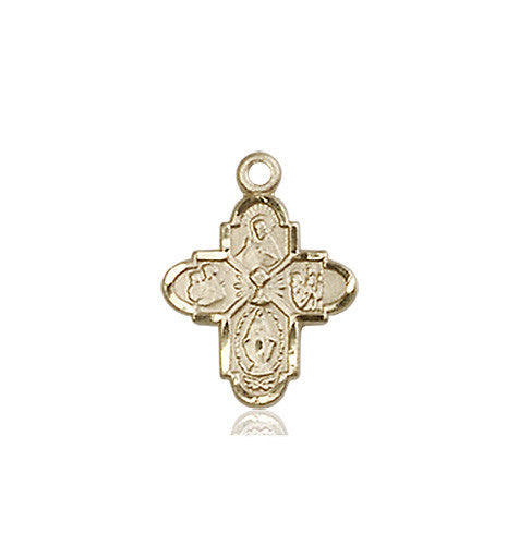 4-Way / Chalice Medal (14kt Gold)