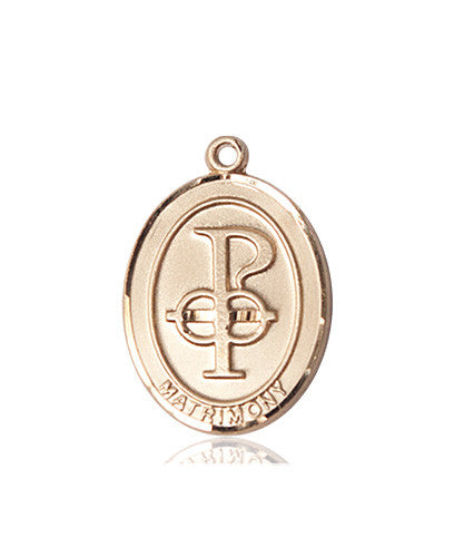 Image of Matrimony Medal (14kt Gold)