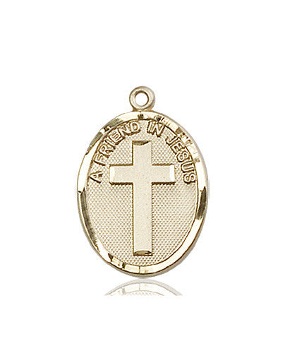 a_friend_in_jesus_14kt_gold_medal