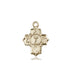 communion_5_way_medal_14kt_gold