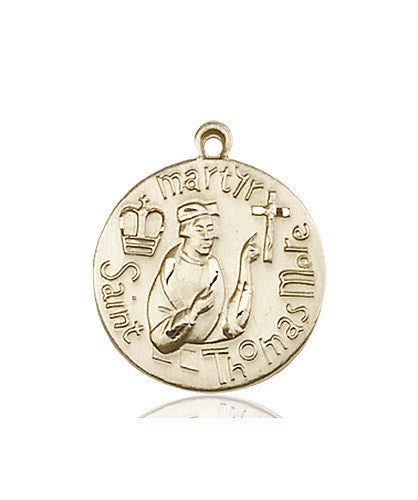 st_thomas_more_medal_14kt_gold