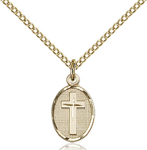 Image of Cross Pendant (Gold Filled)