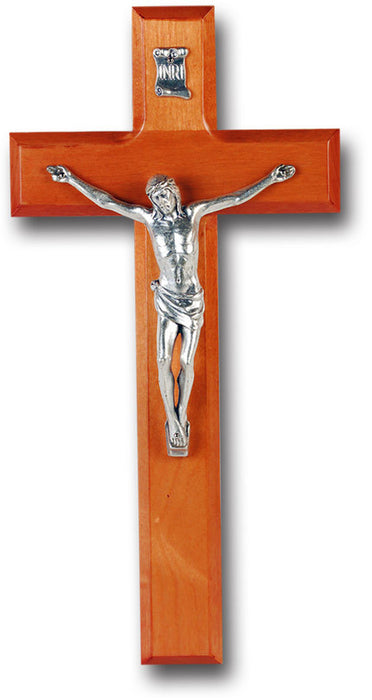 "10"" Cherry Wood Cross"