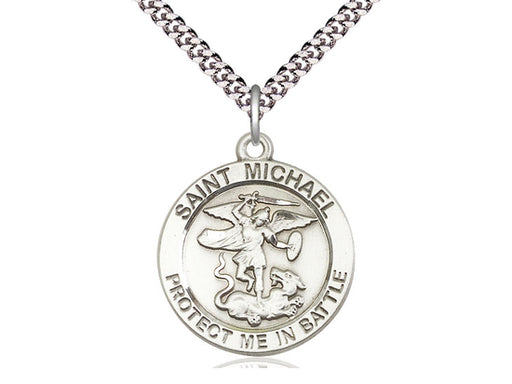St. Michael the Archangel Sterling Silver Pendant