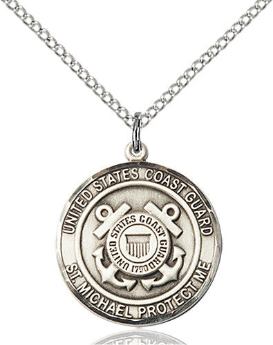 gold religious patron a gifts round st m michael medal necklace