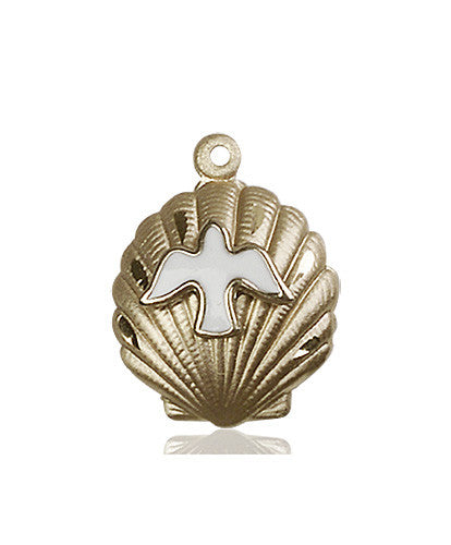 shell_holy_spirit_medal_14kt_gold