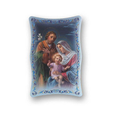 HOLY FAMILY PLAQUE