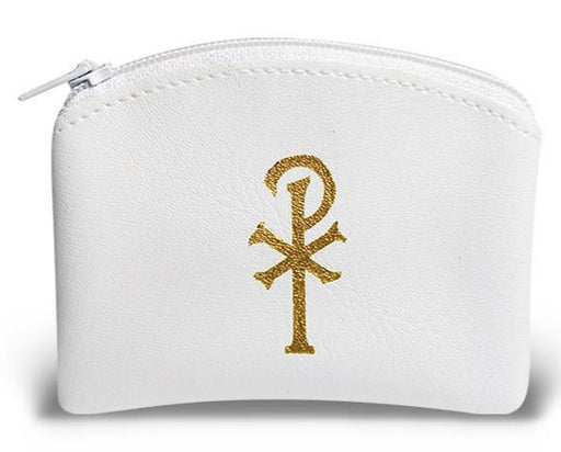 Image of WHITE ROSARY CASE