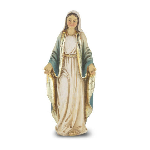 Our Lady of Grace Hand Painted Solid Resin Statue