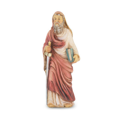 St. Paul Hand Painted Solid Resin Statue