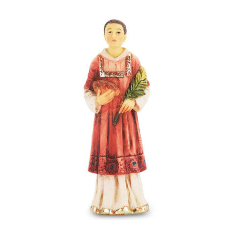 St. Stephen Hand Painted Solid Resin Statue