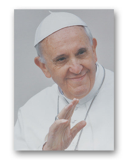 Pope Francis Fine Art Canvas Print