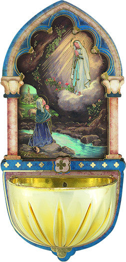 Image of OL OF LOURDES HOLY WATER FONT