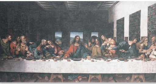 Davinci Last Supper Fine Art Canvas- Large Print